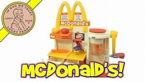 McDonald's Hamburger Snack Maker Playset - Playlist In ...