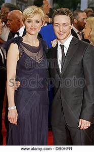 Anne-Marie Duff and James McAvoy arrive for the UK ...