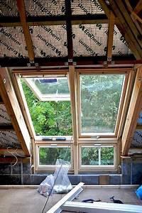 Dachausbau Mit Fenster : die 25 besten ideen zu dachfenster auf pinterest loft ~ Lizthompson.info Haus und Dekorationen