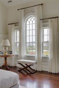 25 best ideas about arched window curtains on arched window treatments arch window
