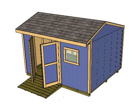 16x12 Shed Plans Free by Saltbox Shed Plans Storage Shed Plans