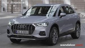 Nouveau Q3 Audi : audi q3 2019 les premi res infos youtube ~ Medecine-chirurgie-esthetiques.com Avis de Voitures