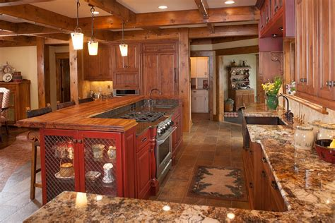 rustic kitchen island ideas mullet cabinet rustic kitchen retreat