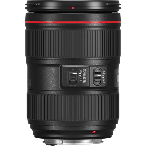 canon ef 24 105mm f 4 l is ii usm lens no retail packing