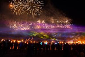 15 Incredibly Dramatic Photos Of Jeju Fire Festival