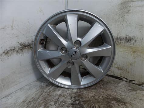2015 Kia Picanto Alloy Wheel 4 Stud 8 Spoke Design 55j X