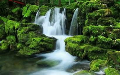Zen Waterfall Desktop Background Wallpapers Backgrounds Wallpaperaccess