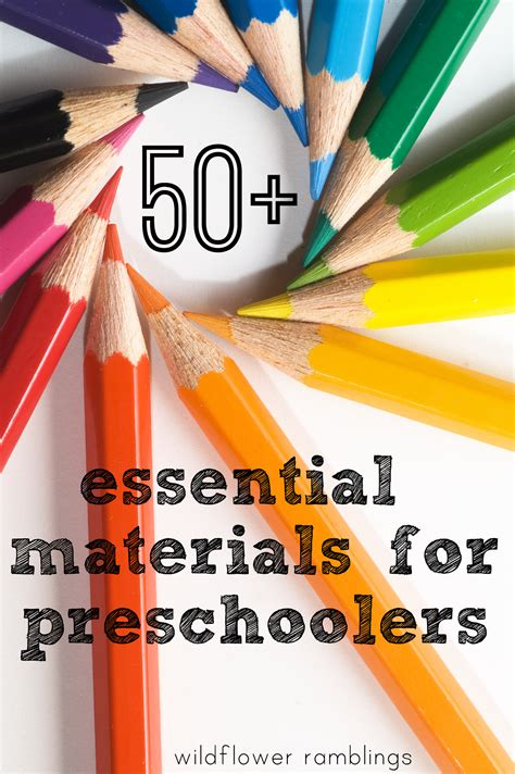 learning tools for children our essential preschool