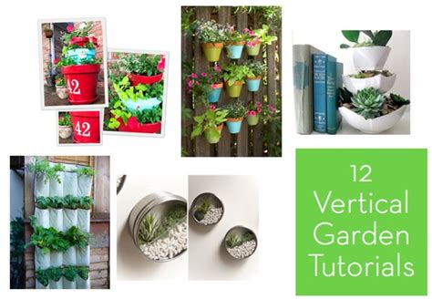 Vertical Garden Tutorial by Roundup 12 Vertical Garden Tutorials Curbly