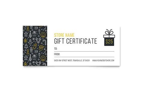 gift certificate templates microsoft word publisher
