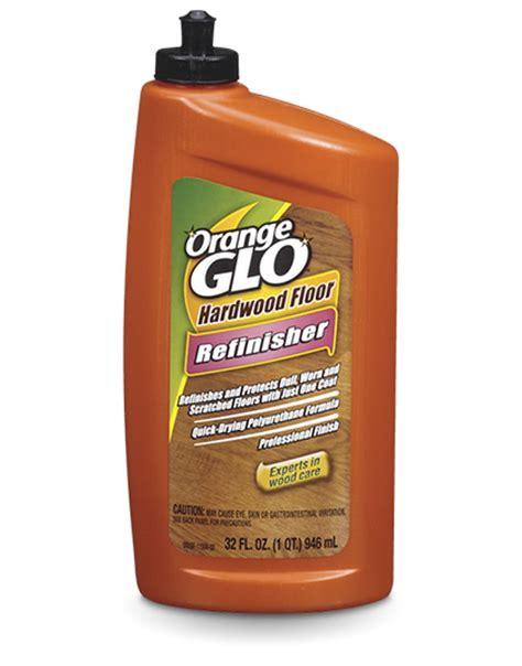 orange glo hardwood floor refinisher