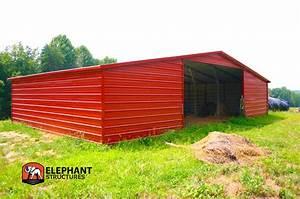 Prefab barn custom barn kits elephant barns for Custom barn kit