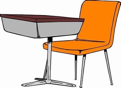 Desk Chair Student Illustration
