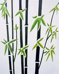Wall art best collection simple bamboo wall art bamboo for Bamboo wall art