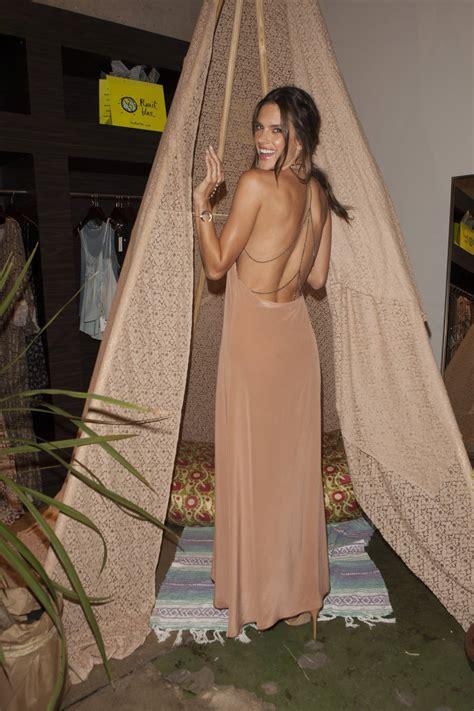 Haute Event: Alessandra Ambrosio Debuts First Fashion Line