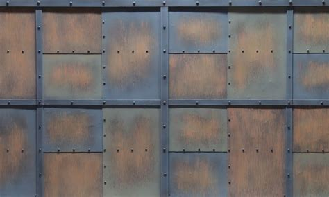 industrial themed wall panels  surfaces designer walls