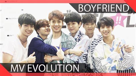 Boyfriend Mv Evolution (20112017) Youtube