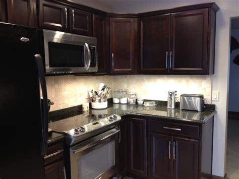 cherry java cabinets shenandoah breckenridge cherry java kitchen contemporary