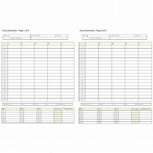 semester planner With semester plan template