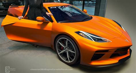 C8 Corvette News by These New C8 Corvette Renderings Us Overflowing With