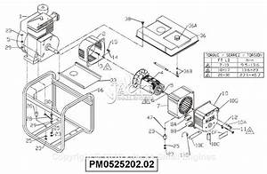 Powermate Formerly Coleman Pm0525202 02 Parts Diagram For