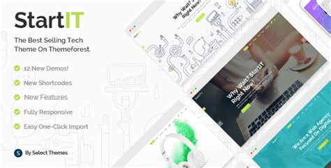 start it wp template themeforest startit download a fresh startup business