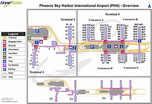 Sky Harbor Terminal Map