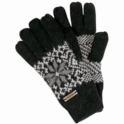 Gloves Angora Knitted