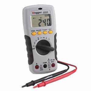 Test  U0026 Tools  U0026gt  Megger  U0026gt  Megger Avo210 Electrician U0026 39 S Multimeter