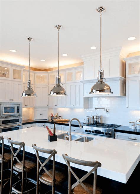 luminaire suspendu cuisine îlot de cuisine et plan de travail 9 idées d 39 éclairage