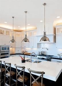 Îlot de cuisine et plan de travail : 9 idées d'éclairage