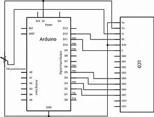 Arduino Lcd  Liquidcrystal I2c Library