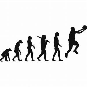 Stickers News Evolution Basketball Art Stick