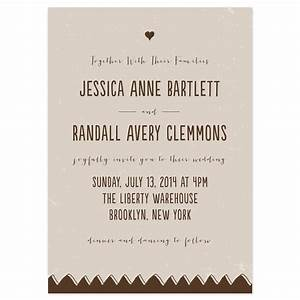 Drawn together wedding invitations invitation wording for Wedding invitation wording for joining families