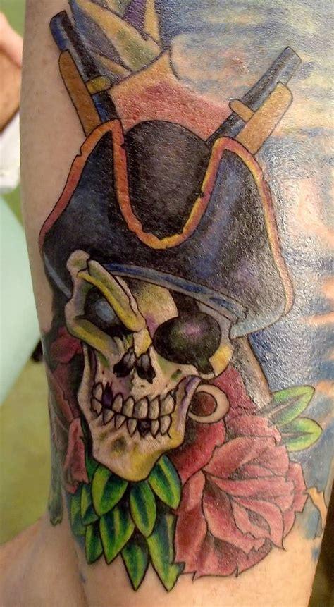 pirate skull tattoo designs