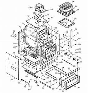 Ge Jgrp17bew5bb Gas Wall Oven Parts