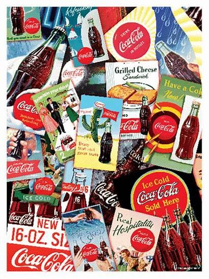 Cola Coca Collage Lenticular Puzzle 3d Puzzles