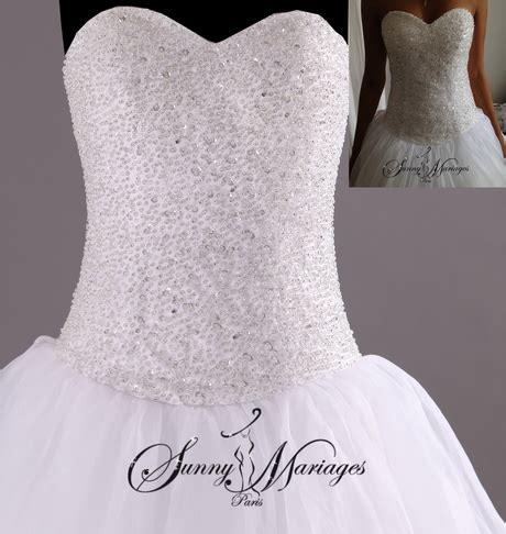 robe de mariée bustier strass robe de soir 233 e bustier avec strass