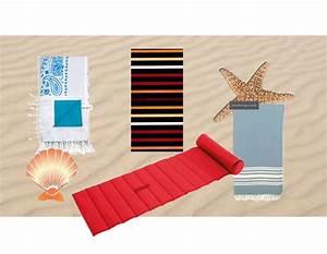 Repose Tete Plage : serviette de bain avec photo repose tete ~ Dode.kayakingforconservation.com Idées de Décoration
