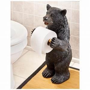 Bear, Toilet, Paper, Holder