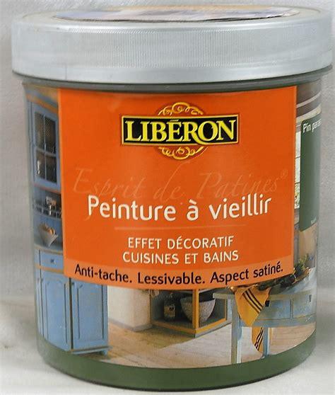 peinture liberon pour cuisine peinture à vieillir esprit de patines libé 1 l libé