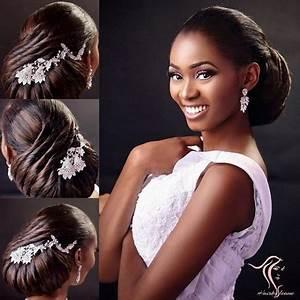 Coiffure Femme Pour Mariage : coiffure mariage pour black ~ Dode.kayakingforconservation.com Idées de Décoration