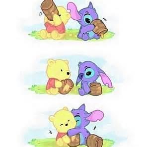 Cute Baby Stitch Disney