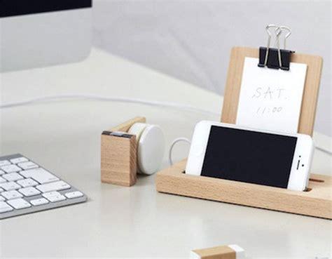 les accessoires de bureau accessoires bureau design bois