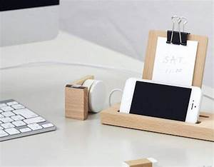 Accessoires Bureau Design Bois