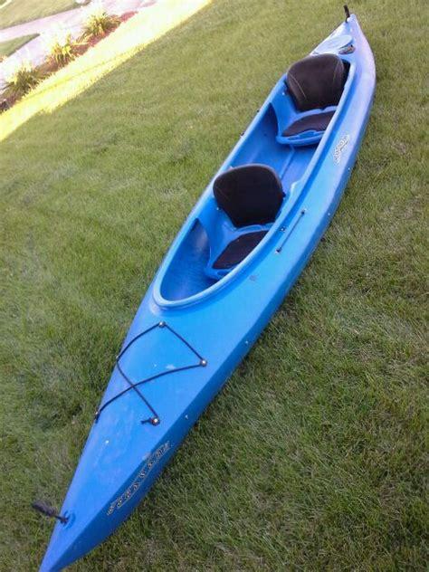 foot mainstream escapade tandem fishing kayak boat