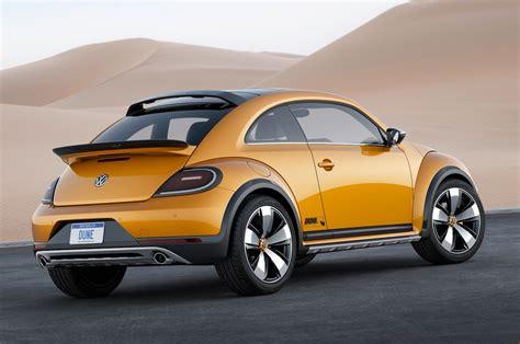 volkswagen beetle volkswagen beetle dune concept first look motor trend