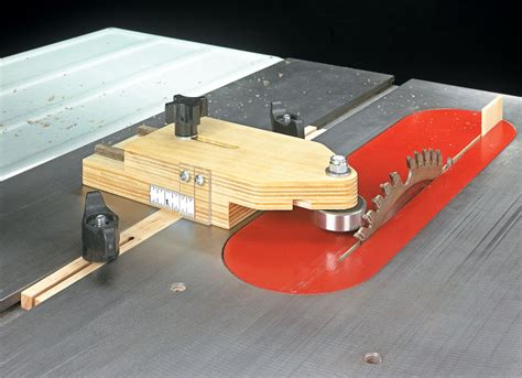 table  ripping jig woodworking project woodsmith plans