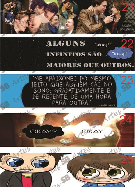 foto de Marcadores de Página Culpa das Estrelas SB Artes Elo7