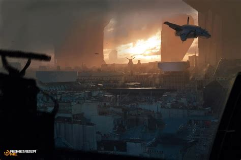 Remember Me Concept Art By Paul Chadeisson Concept Art World